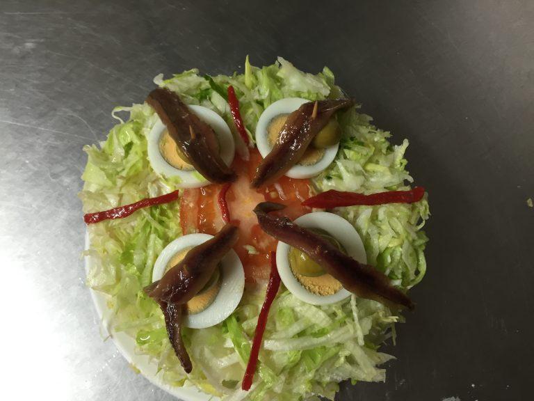 Salado - Ensalada - Pastelería Hergós