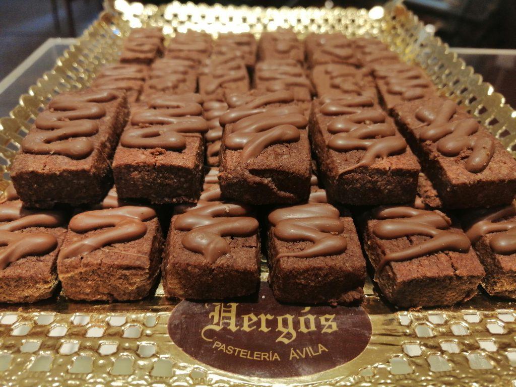 Pastas sin Azúcar de chocolate - Pastelería Hergós