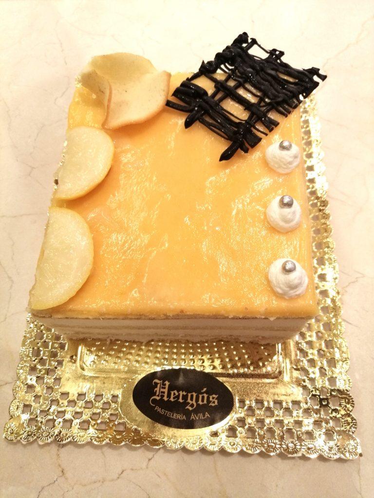 Tarta de Limón - Pastelería Hergós