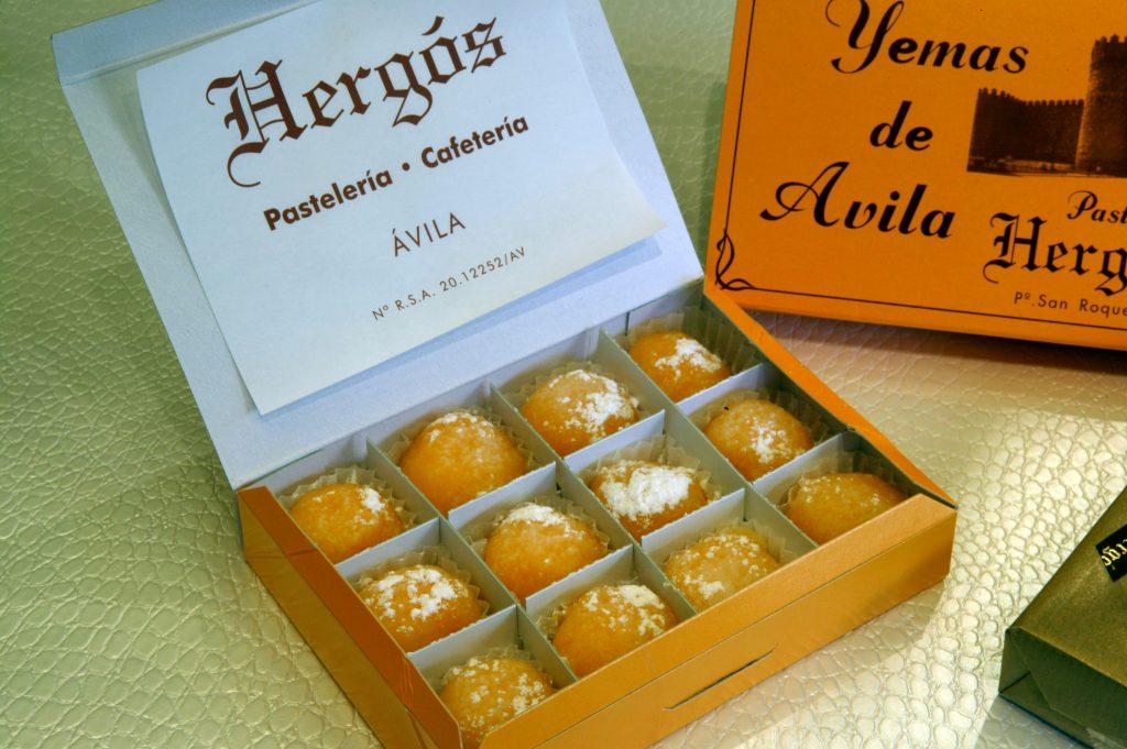 Yemas de Ávila - Pastelería Hergós
