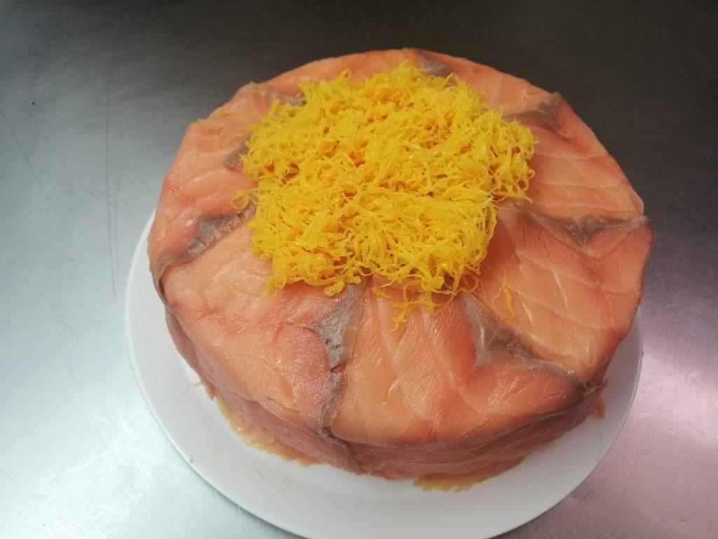 Tarta Salmón - Pastelería Hergós