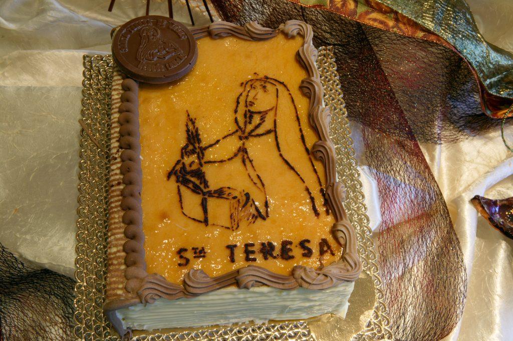 Libro Santa Teresa - Pastelería Hergós Avila